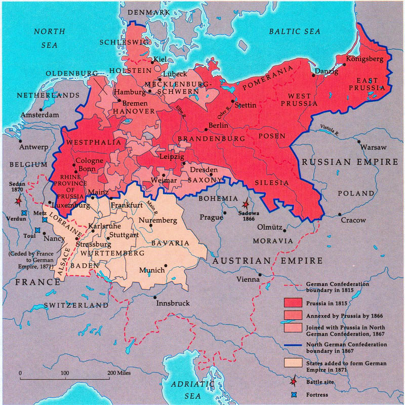 """unification of germany Otto von bismarck, who was known as """"the iron chancellor,"""" led the prussian  autocratic state and played a prominent role in the unification of germany """"from."""